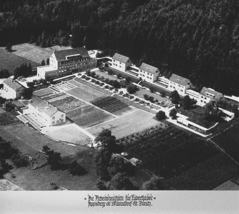 Luftaufnahme 1932 Appisberg klein